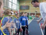 11.02 Pokaz Tenis10 przed meczem Polska:Madagaskar